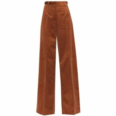 ロック Rokh レディース ボトムス・パンツ Wide-leg corduroy pants