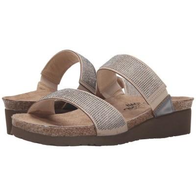 ナオト Naot レディース サンダル・ミュール シューズ・靴 Bianca Beige/Silver Rivets/Mirror Leather