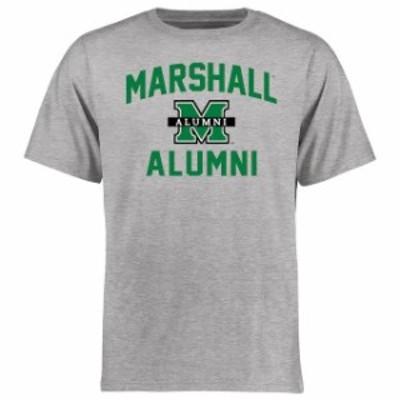 Fanatics Branded ファナティクス ブランド スポーツ用品  Marshall Thundering Herd Ash Alumni T-Shirt