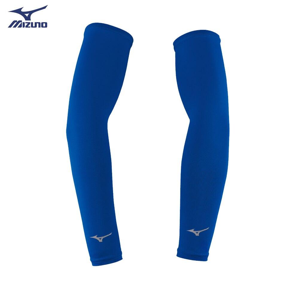 32TY8G0116(深藍)抗紫外線、防曬必備 彈性袖套 【美津濃MIZUNO】