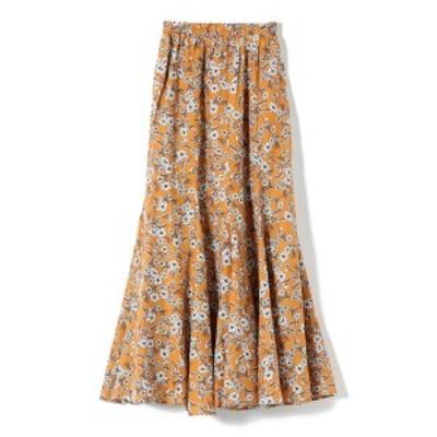 シップス(レディース)(SHIPS for women)/MARIHA:フラワープリントマーメイドスカート