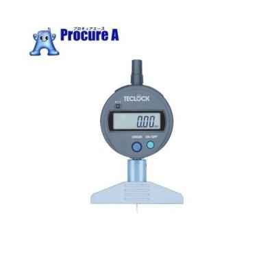 テクロック デジタルデプスゲージ 測定範囲0〜12mm DMD-210S2 ▼451-4882 (株)テクロック