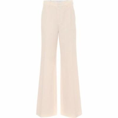 ローラン ムレ Roland Mouret レディース ボトムス・パンツ ワイドパンツ Lucanus Wool Crepe Wide Leg Pants Pale Pink