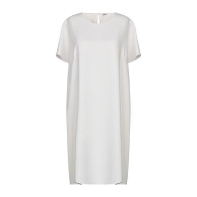 パロッシュ P.A.R.O.S.H. ミニワンピース&ドレス ホワイト L ポリエステル 100% ミニワンピース&ドレス