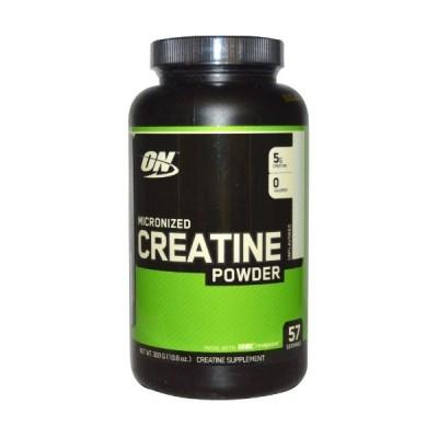 【送料無料】Optimum Nutrition,クレアチンパウダー、微粉化、無香料、5,000 mg、10.5 oz (300 g)
