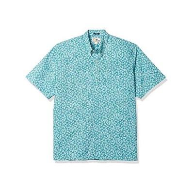 Reyn Spooner Men's M503512620, Kiko Blooms - Teal Blue, XL