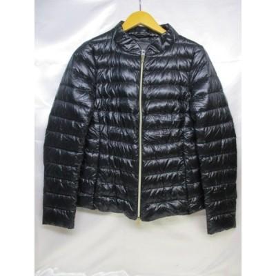 HERNO ヘルノ ダウンジャケット サイズ42 ネイビー レディース ルーマニア製