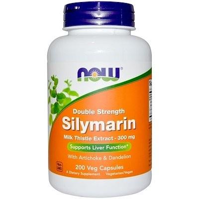 Double Strength Silymarin, 300 mg, 200 Veg Capsules