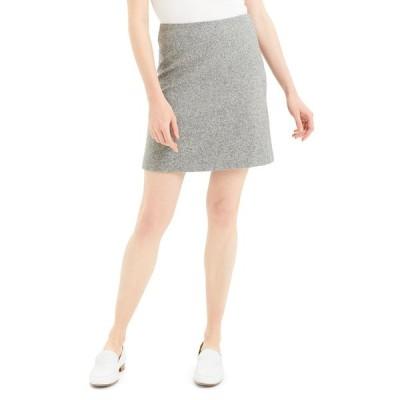 セオリー レディース スカート ボトムス Speckle Wool Easy-Waist Skirt