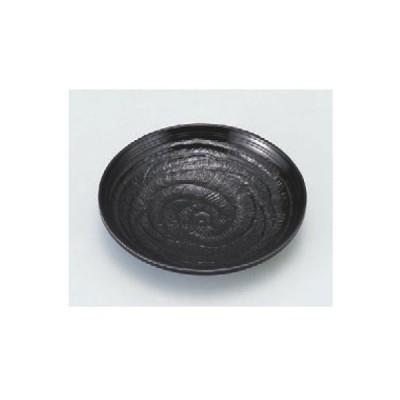 茶托 象こく茶托 黒 高さ20mm×直径:107/業務用/新品