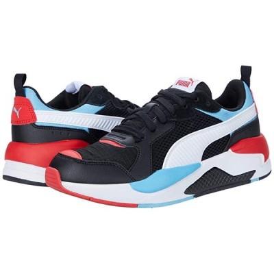 プーマ X-Ray Color-Block メンズ スニーカー 靴 シューズ Puma Black/Puma White/Etheral Blue/High-Risk Red