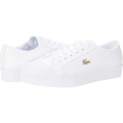 ラコステ Lacoste レディース スニーカー シューズ・靴 Ziane Plus Grand 07211CFA White/White