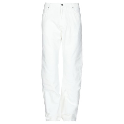 ラルディーニ LARDINI パンツ ホワイト 54 コットン 100% パンツ