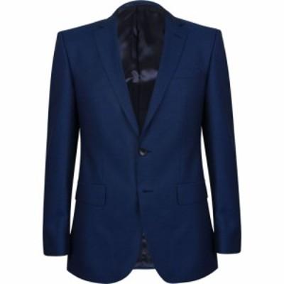 ヒューゴ ボス BOSS メンズ スーツ・ジャケット アウター slim fit virgin wool suit blazer Colbalt