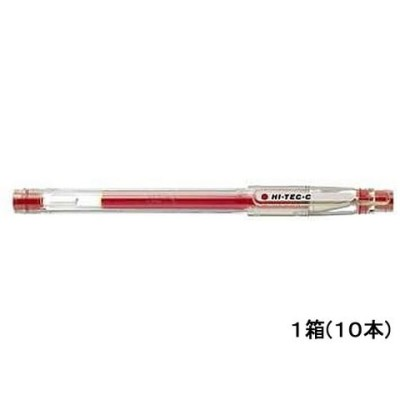 パイロット/ハイテック05 極細0.5mm レッド 10本/LH-20C5-R