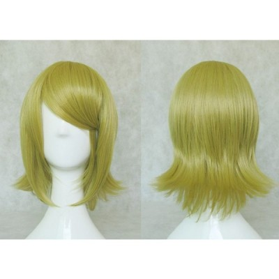【COSPLAY WIG】VOCALOID  千本桜 鏡音リン コスプレウイッグ 高温耐熱 コスチューム ネット付き