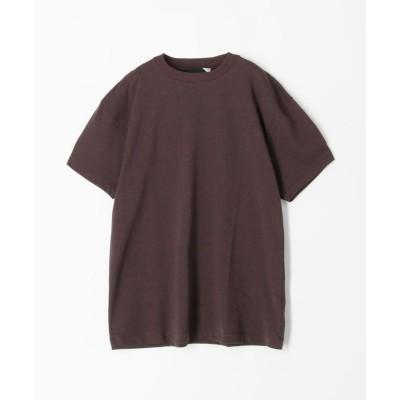 【トゥモローランド】 ATON×TOMORROWLAND コットンジャージー Tシャツ レディース 49ダークブラウン 2 TOMORROWLAND