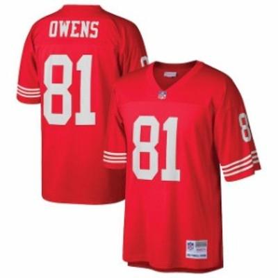 Mitchell & Ness ミッチェル アンド ネス スポーツ用品  Mitchell & Ness Terrell Owens San Francisco 49ers Scarlet R