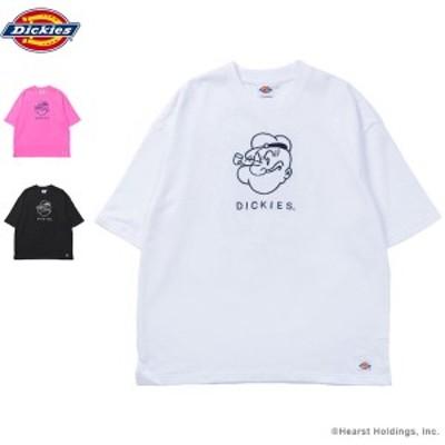 【Dickies】 POPEYE コラボTシャツ 183U30PY01 トップス カットソー Tシャツ 半袖 プリントTシャツ【送料無料】