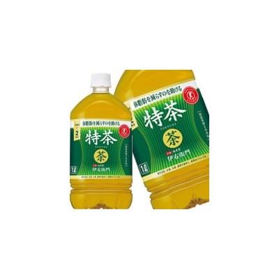 サントリー 緑茶伊右衛門 特茶 特定保健用食品 1L PET × 12本 賞味期限:2ヶ月以上 【4〜5営業日以内に出荷】