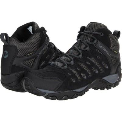 メレル Merrell メンズ ランニング・ウォーキング シューズ・靴 Crosslander 2 Mid WP Black/Granite