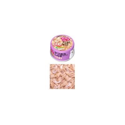 いなば CIAO チャオ ホワイティ かつお&しらす ほたて味 85g 缶詰 猫用