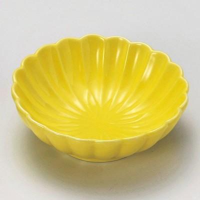 (業務用・花・葉形)黄色菊型鉢[15929-188](入数:1)