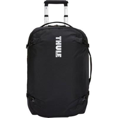 スーリー Thule メンズ スーツケース・キャリーバッグ バッグ Subterra Wheeled Duffel 22 inch Luggage Black