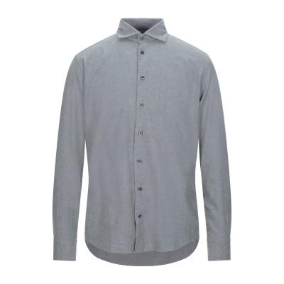 BASTONCINO シャツ グレー 39 コットン 100% シャツ