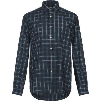 ザカス XACUS メンズ シャツ トップス checked shirt Deep jade
