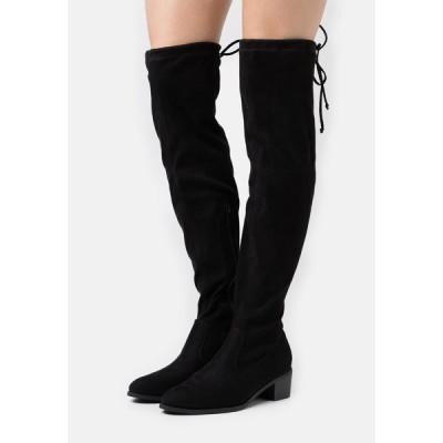 アンナフィールド ブーツ&レインブーツ レディース シューズ Over-the-knee boots - black