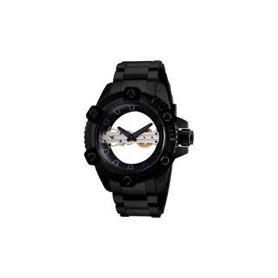 メンズ 腕時計 インヴィクタ Invicta Reserve Stainless Steel Black Band Metal Black Dial Men's Watch 26487