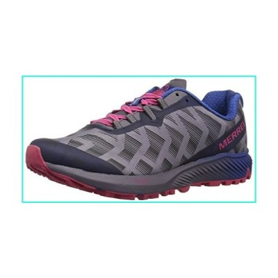 【新品】Merrell Women's Agility Synthesis Flex Sneaker, Shark, 9 M US(並行輸入品)