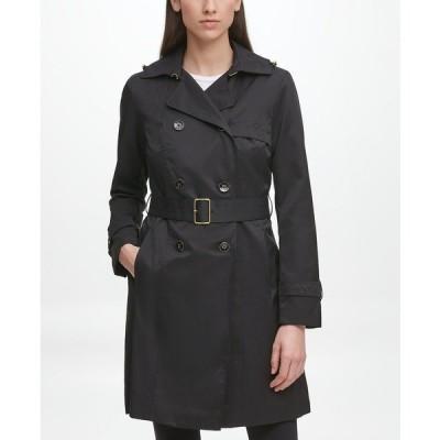 コールハーン コート アウター レディース Classic Women's Cotton Trench Coat Black