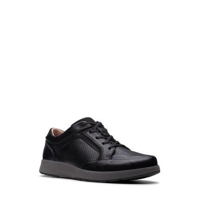 クラークス メンズ スニーカー シューズ Untrail Form Lace-Up Sneaker BLACK