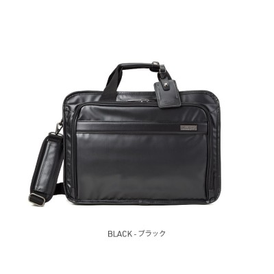 【カバンのセレクション】 バーマス インターシティ ビジネスバッグ 2WAY 2層 拡張 B4 ブリーフケース BERMAS 60461 ユニセックス ブラック フリー Bag&Luggage SELECTION