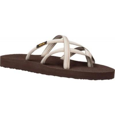 テバ Teva レディース サンダル・ミュール シューズ・靴 Olowahu Sandal Antiguous Birch Textile