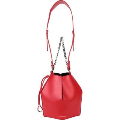 アレキサンダー マックイーン ALEXANDER MCQUEEN レディース ハンドバッグ バッグ handbag Red