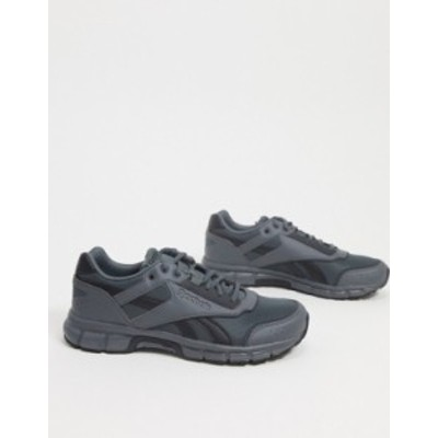 リーボック メンズ スニーカー シューズ Reebok Classics Royla run finish sneakers in true gray True gry 7/true gry