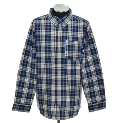アーバンリサーチ URBAN RESEARCH チェックボタンダウンシャツ 長袖 サイズ40(L) 中古 古着