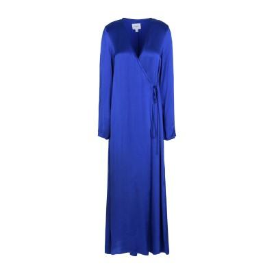 JOVONNA ロングワンピース&ドレス ブルー 8 レーヨン 100% ロングワンピース&ドレス