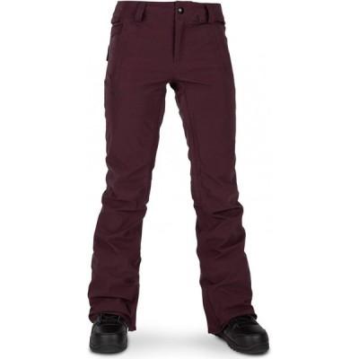 ボルコム Volcom レディース スキー・スノーボード ボトムス・パンツ Flor Stretch Gore-Tex Snowboard Pants Merlot
