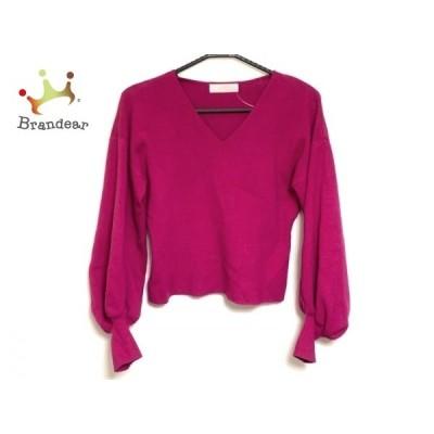 セルフォード CELFORD 長袖セーター サイズ36 S レディース ピンク  値下げ 20200511