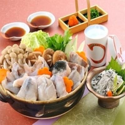とらふぐ【ちり鍋・皮湯引き】シメに米麺 レシピ付で初めてでも簡単 2~3人前