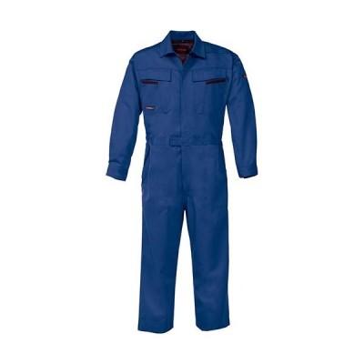 ジーベック(XEBEC) KAKUDAつなぎ 40/ブルー 34880 作業服 作業着 ワークウエア ワークウェア メンズ レディース