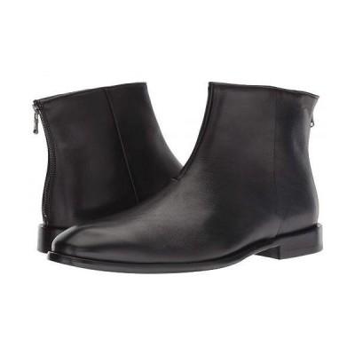 John Varvatos ジョーンバルバトス メンズ 男性用 シューズ 靴 ブーツ ドレスブーツ NYC Back Zip Boot - Black