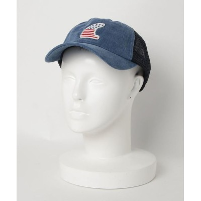FUNALIVE / PIGMENT CAP FIN WPP ピグメント加工プリントキャップ MEN 帽子 > キャップ
