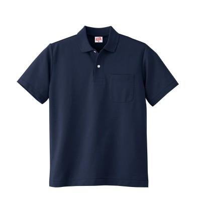 小倉屋 100 ヘビーウェイト半袖ポロシャツ(ポケット付き)(男女兼用) 作業服