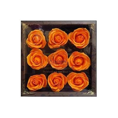 九州フラワーサービス お花のカタチの入浴剤 ミニローズフレグランスL 9輪入り 771798