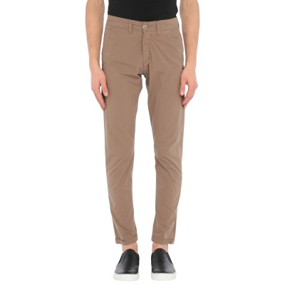 LIU •JO MAN パンツ ブラウン 28 コットン 97% / ポリウレタン 3% パンツ